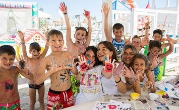 Color Holiday: Kunterbunter Familienurlaub mit italienischem Flair - Kinderhotel.Info