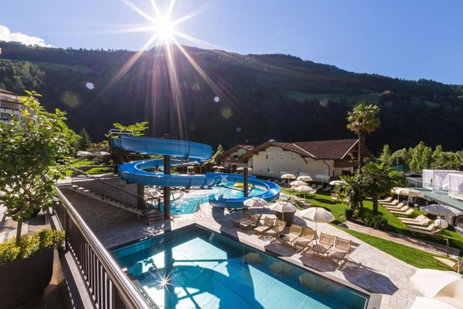 Angebote vom Sport & Wellness Resort Quellenhof in Meran - Kinderhotel.Info