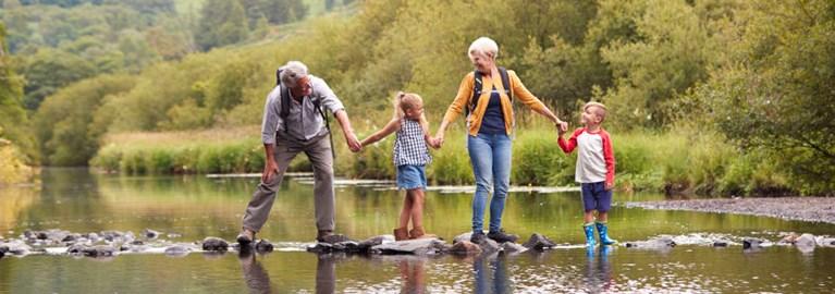 Familienurlaub mit Großeltern