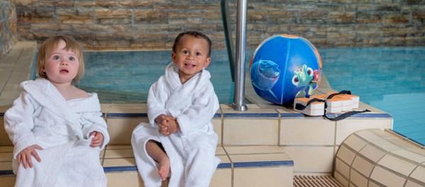 Familienurlaub mit Baby im Familotel Engel