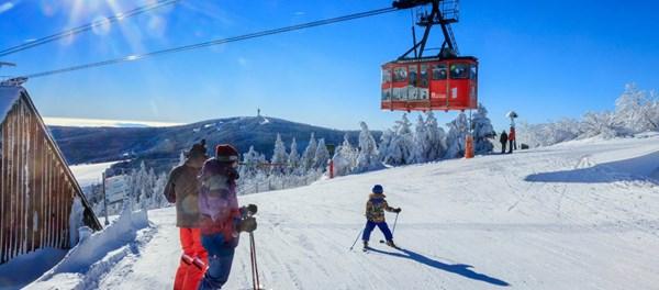 Skiurlaub mit Kindern im Familotel Elldus Resort