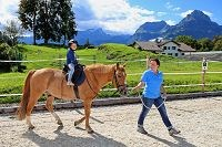 Kinder Reiten Swiss Holiday Park