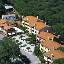 Kinderhotel: fabilia Family Sport Resort Rosolina Mare - Apartments mit All Inclusive in der Pinienhain von Rosolina Mare - Fabilia Family Resort Rosolina Mare
