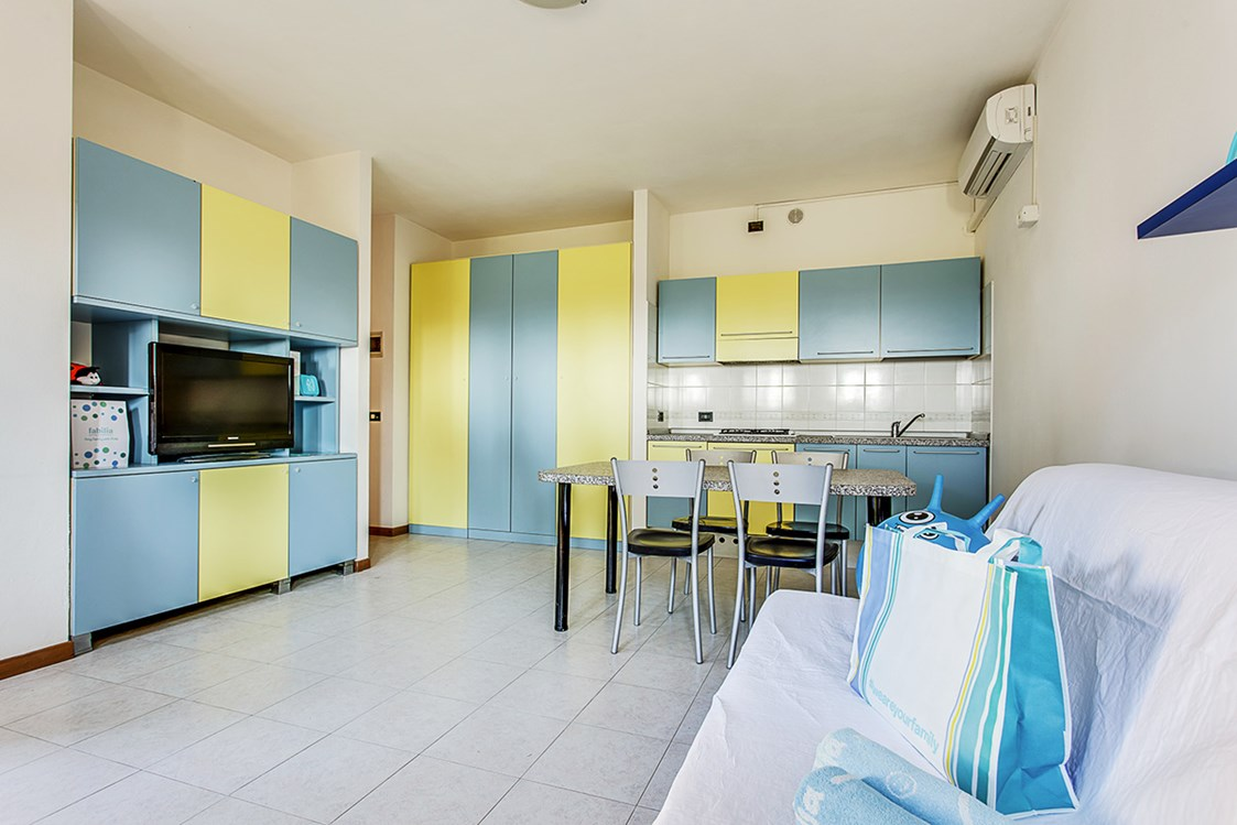 Kinderhotel: Easy Aparment in All Inclusive Urlaub für Familien mit Kinder - Fabilia Family Resort Rosolina Mare