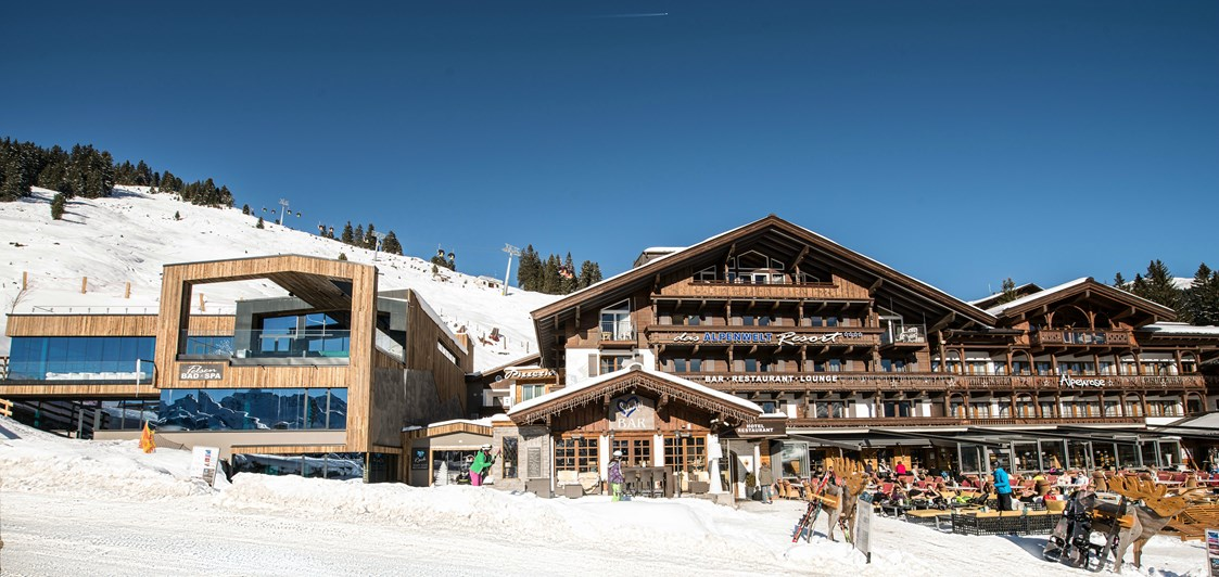 Kinderhotel: Das Alpenwelt Resort im Winter - Das Alpenwelt Resort****SUPERIOR