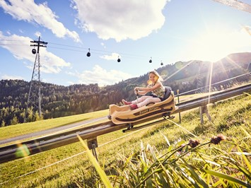Leading Family Hotel Bär Ausflugsziele Sommer-Funpark Fiss