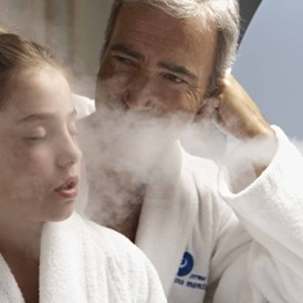 Kinderhotel: Aerosole und Inhalationen in der Nähe des Hotels - Family Spa Hotel Le Canne-Ischia