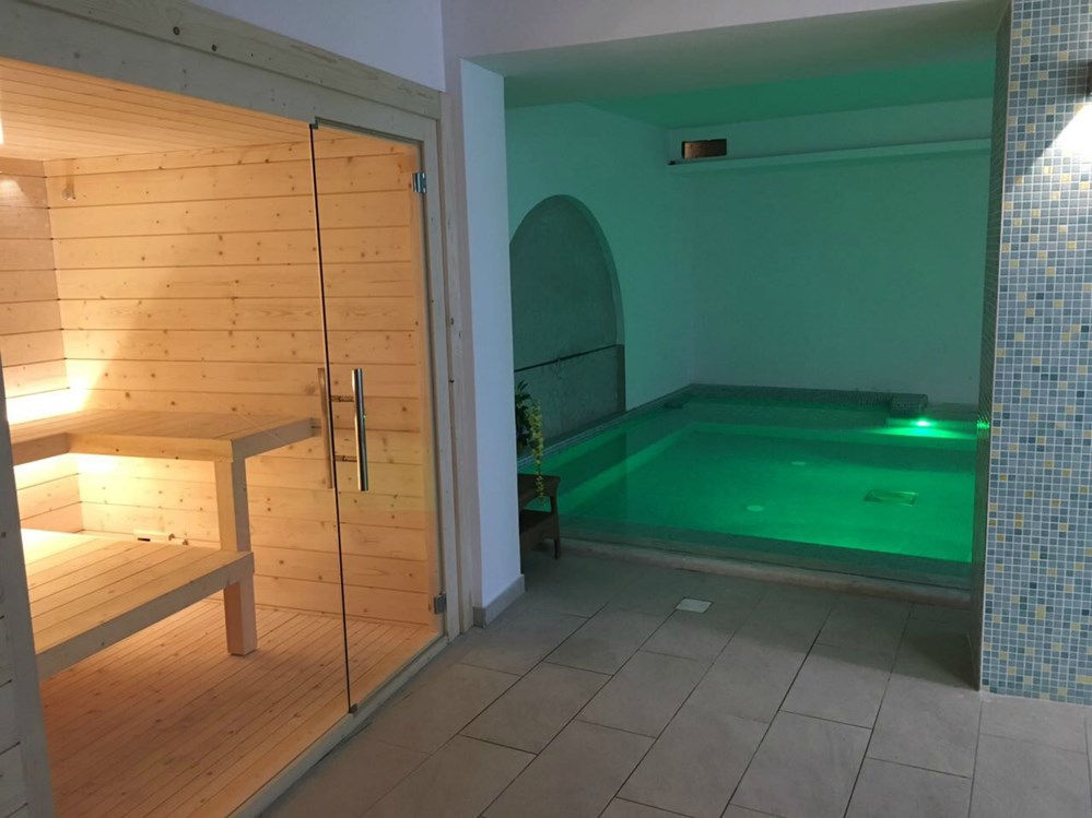 Kinderhotel: Spa Mit Sauna und emotionale Dusche - Family Spa Hotel Le Canne-Ischia