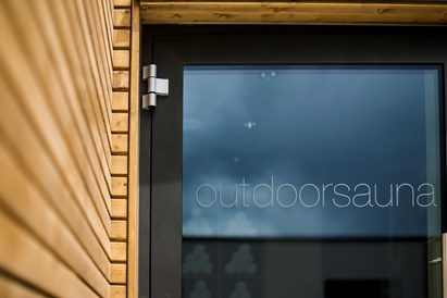 Kinderhotel: Outdoorsauna - SONNEN RESORT ****S