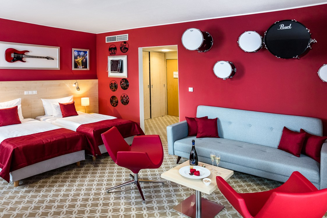 Kinderhotel: Aquapalace Hotel Prague - Design Suite - Aquapalace Hotel Prag
