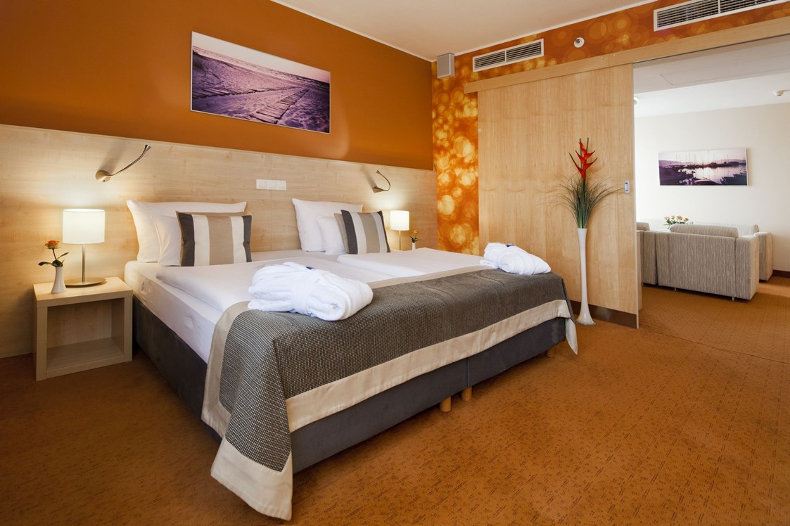 Kinderhotel: Aquapalace Hotel Prague - Superior King Suite - Aquapalace Hotel Prag
