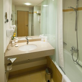 Kinderhotel: Aquapalace Hotel Prague - bathroom - Aquapalace Hotel Prag