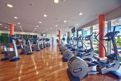 Kinderhotel: Aquapalace Hotel Prague - Fitness centre - Aquapalace Hotel Prague