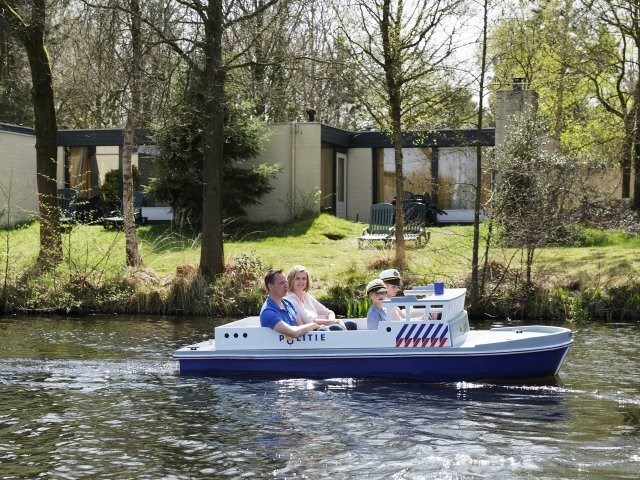 Kinderhotel: Boot fahren - Center Parcs Het Meerdal