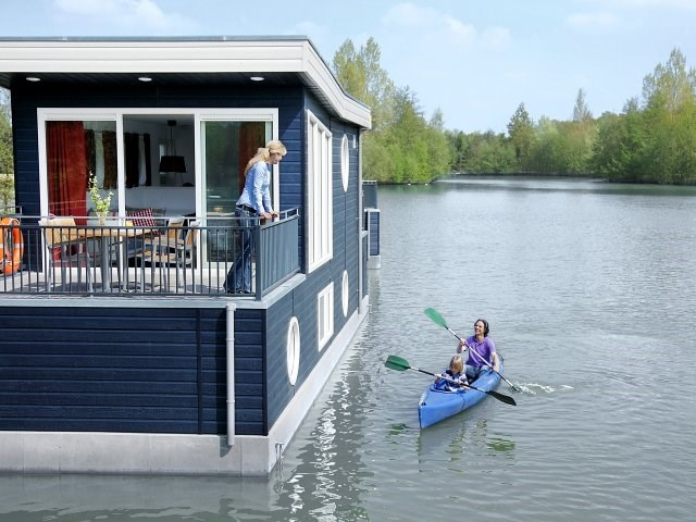 Kinderhotel: Hausboot - Center Parcs Bispinger Heide