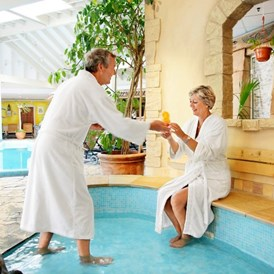 Kinderhotel: Wellness-Bereich - Center Parcs Bispinger Heide