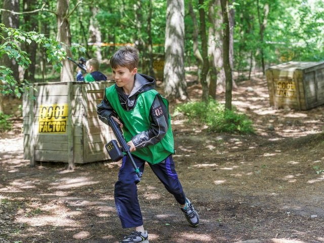 Kinderhotel: Laser-Battle - Center Parcs Bispinger Heide
