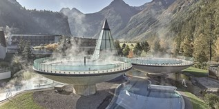 Familienhotel - Pools: Sportbecken - AQUA DOME - Tirol Therme Längenfeld