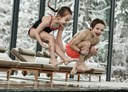 Kinderhotel: Waldhaus Flims Spa Pool Kinder - Waldhaus Flims Wellness Resort