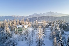 Familienhotel - Pools: Außenpool beheizt - Schweiz - Waldhaus Flims Wellness Resort