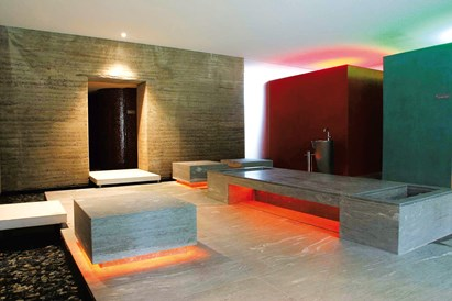 Kinderhotel: Sauna  - Waldhaus Flims Wellness Resort