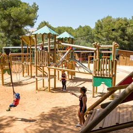 Kinderhotel: Spielplatz - Blau Privilege PortoPetro Beach Resort & Spa