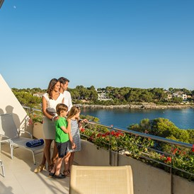 Kinderhotel: Suite mit Meerblick - Blau Privilege PortoPetro Beach Resort & Spa