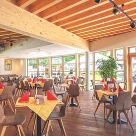 Kinderhotel: neues Panoramarestaurant - Gut Wenghof - Family Resort