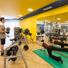 Kinderhotel: Fitnesscenter - AIGO welcome family