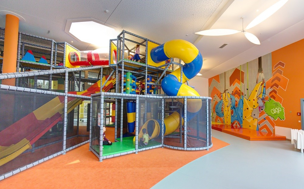 Kinderhotel: Softplay-Anlage - AIGO welcome family