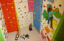 Kinderhotel: Kletterwand - Galtenberg Family & Wellness Resort