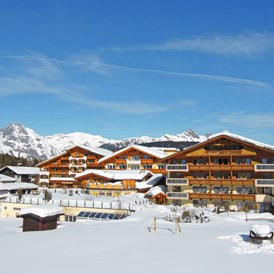 Kinderhotel: Alpenpark Resort Seefeld im Winter - Alpenpark Resort Seefeld