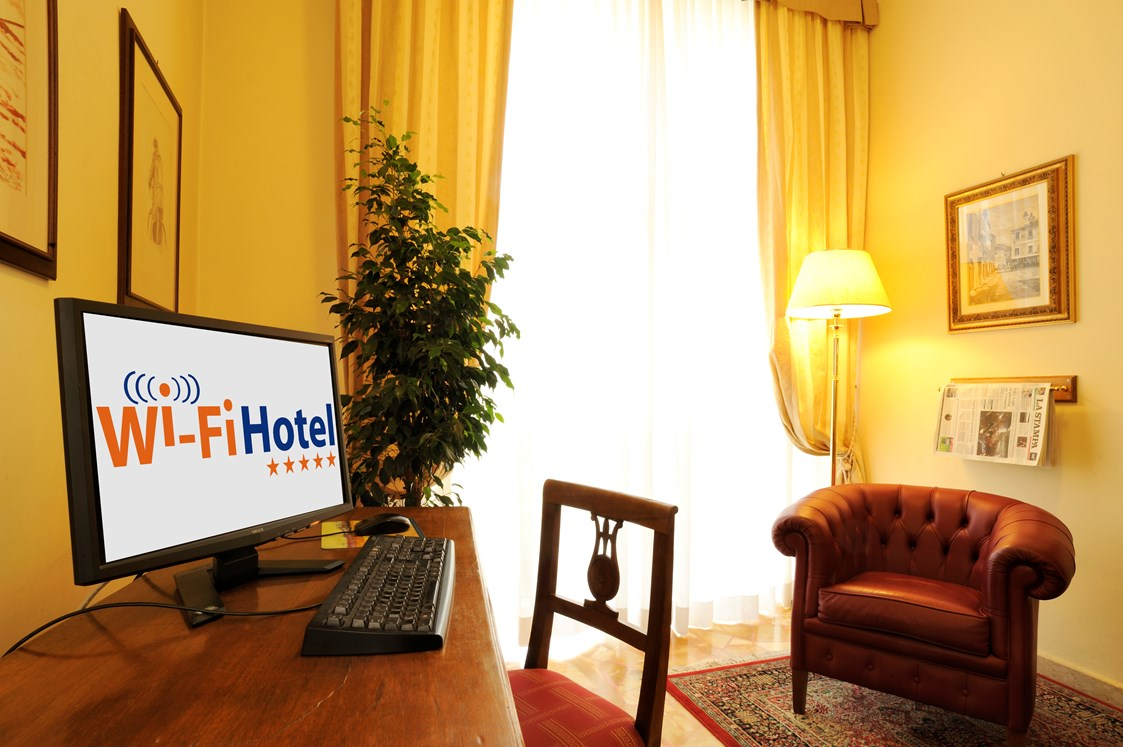 Kinderhotel: Free Internet-Point - Hotel Villa Ida