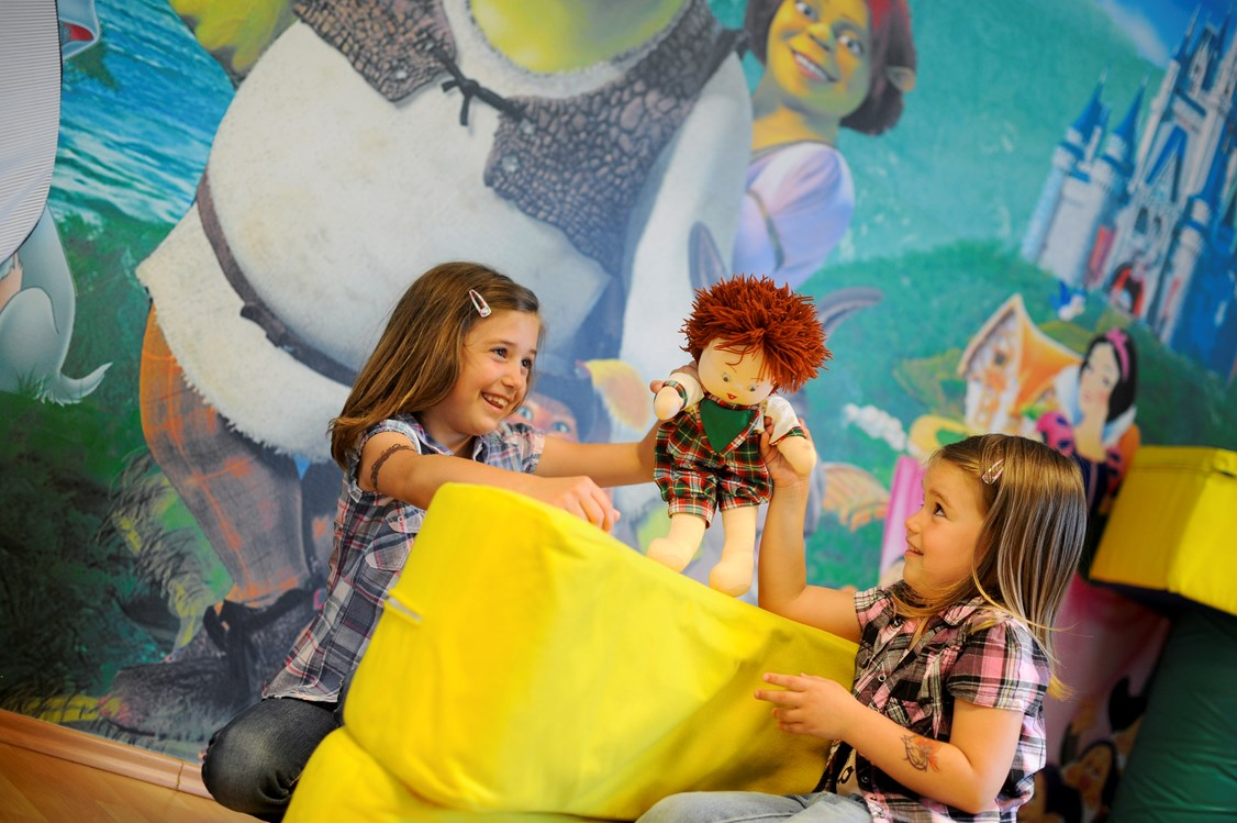 Kinderhotel: Spielzimmer für Kinder - MenDan Magic Spa & Wellness Hotel