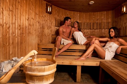 Kinderhotel: Sauna - MenDan Magic Spa & Wellness Hotel