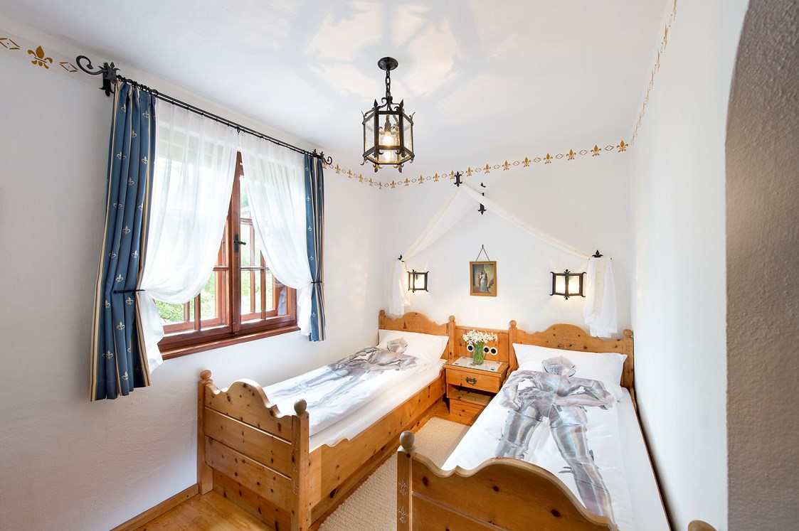 Kinderhotel: Schloss Thannegg Kinderzimmer - Hotel Schloss Thannegg-Moosheim