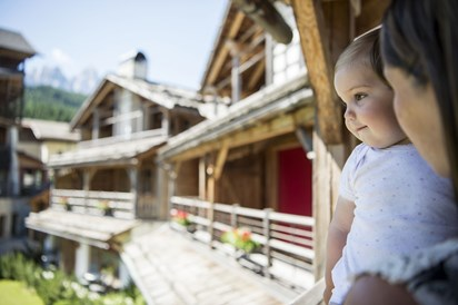 Kinderhotel: Post Alpina - Family Mountain Chalets