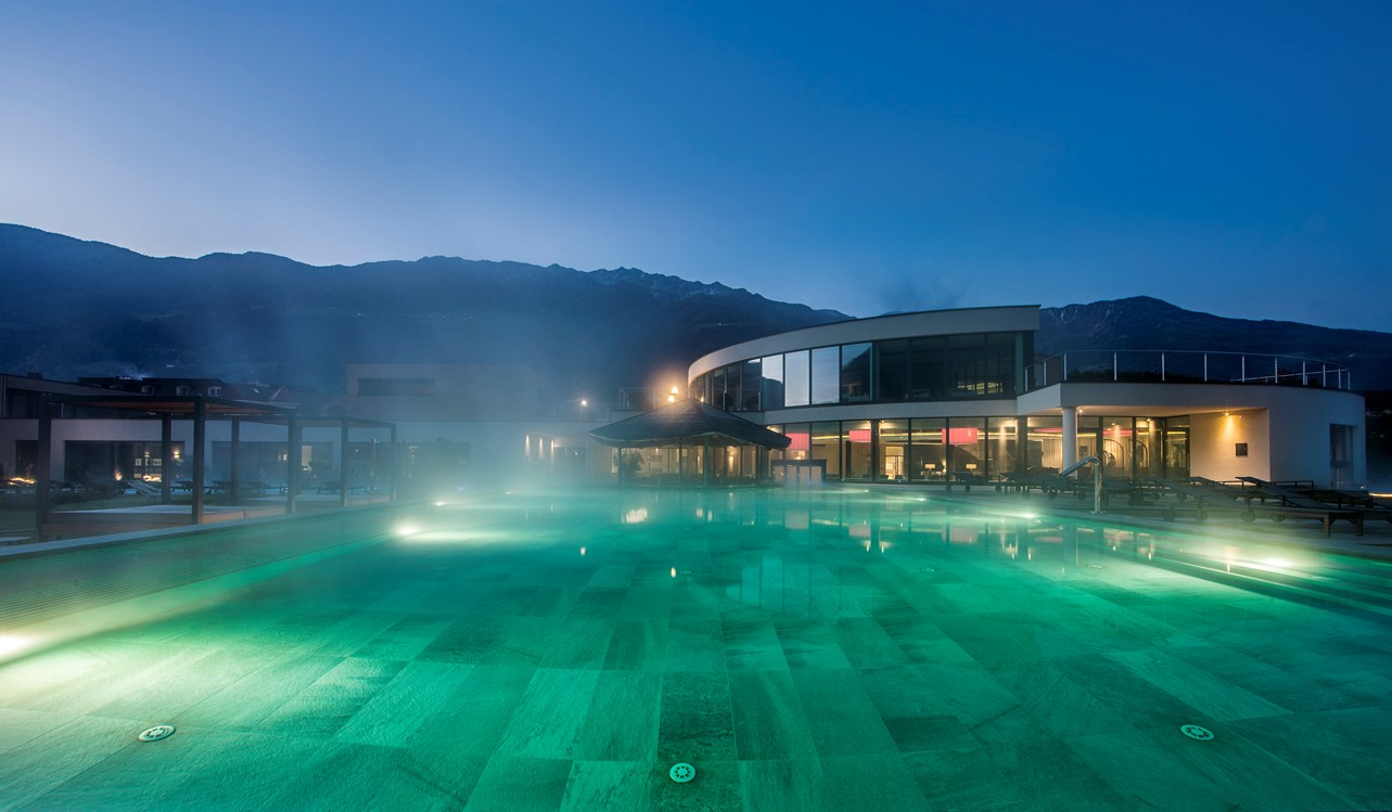 Kinderhotel: Beheizter Outdoor-Pool - Familien - und Wellnesshotel Prokulus